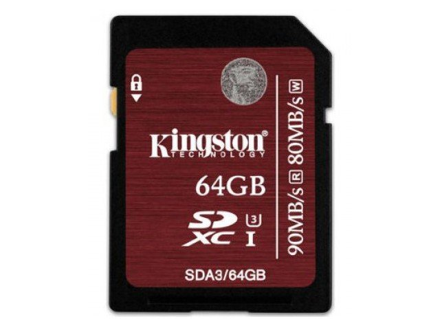 Kingston SDXC UHS-I U3 64GB 90MB/s (4К)