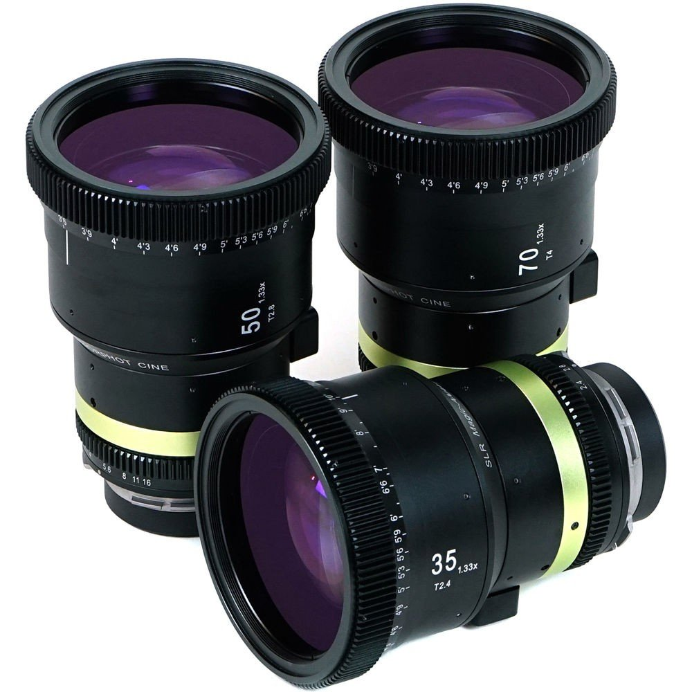 SLR Magic Anamorphot CINE Lens Set 35/50/70 PL / EF