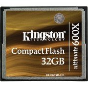 Compact Flash 32Gb Kingston Ultimate 600x U3
