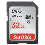 SanDisk Ultra SDHC 32Gb Class 10 UHS-I 40MB/s