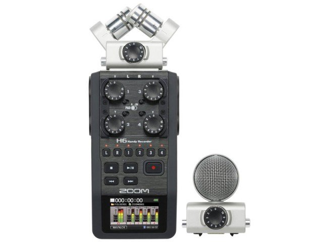 Рекордер ZOOM H6 Next + X / Y mic + Mid-Side mic