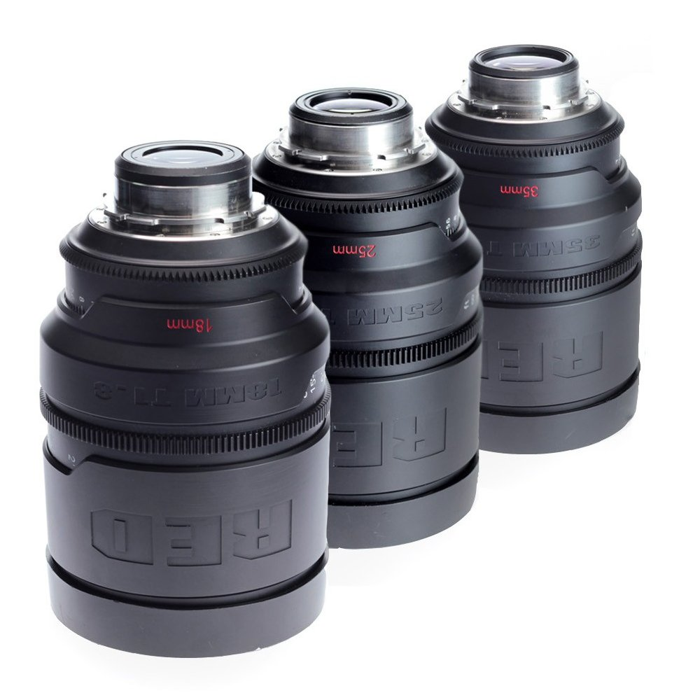 RED PRO PRIME 35 / 50 /100mm T1.8 PL SET