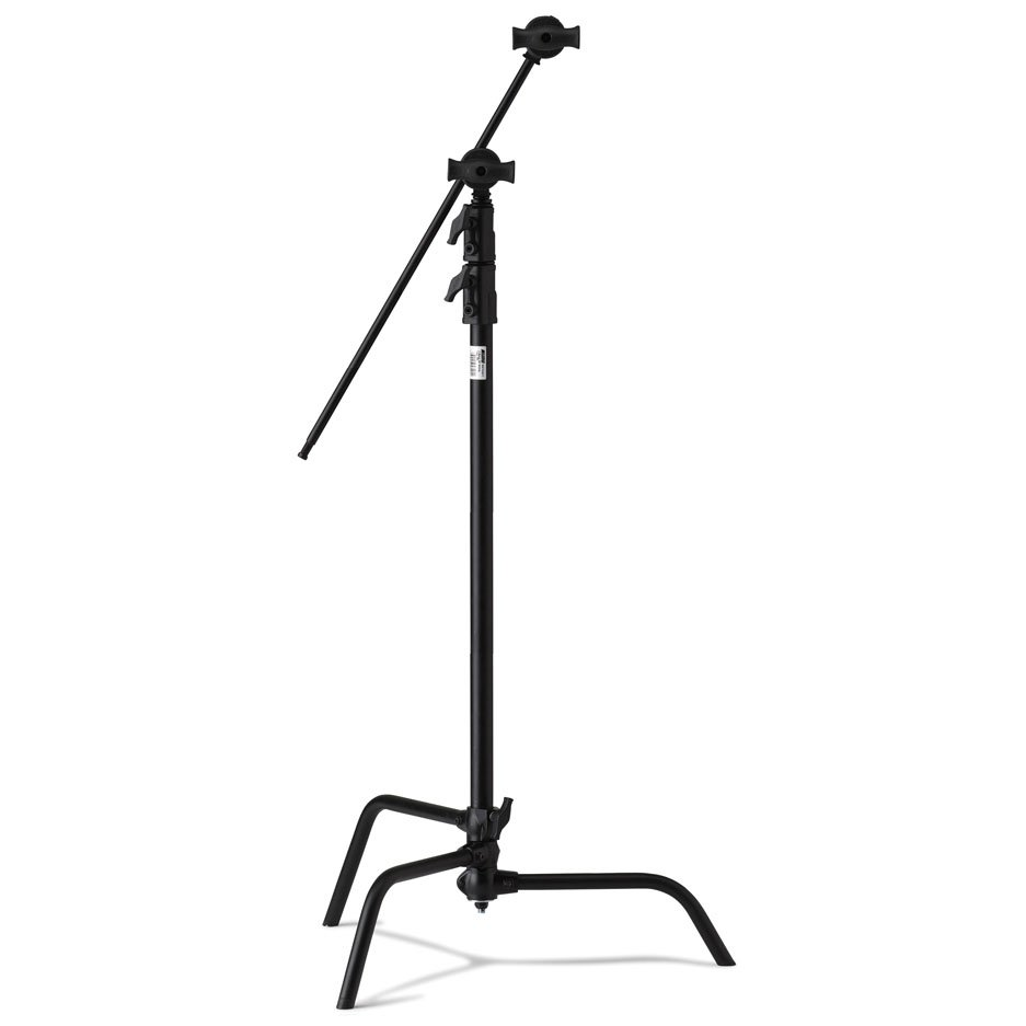 "Avenger C-stand 40"" black +Extension Arm +Grip Head"