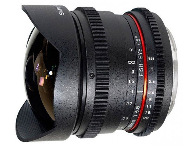 Samyang 8mm T3.8 (f3.5) Cine AS UMC VDSLR (Canon)