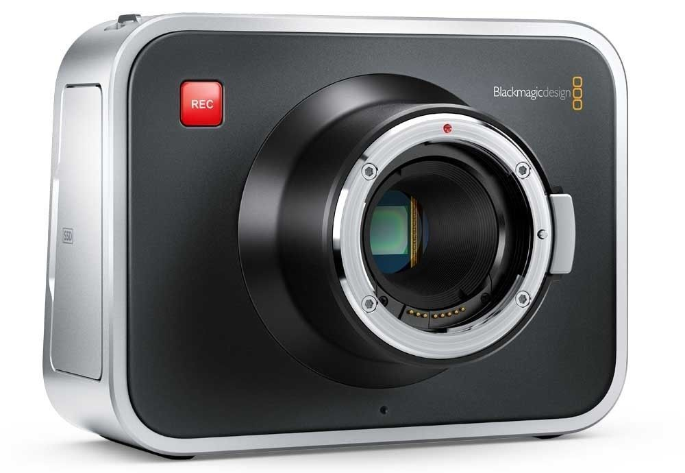 Blackmagic Cinema Camera 2.5K Body EF mount