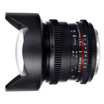 Samyang 14mm T3.1 Cine AS UMC VDSLR
