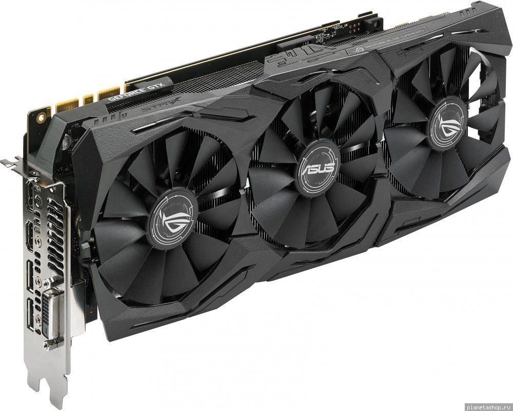 Видеокарта Asus GeForce GTX 1080 strix 8gb