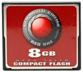 Compact Flash RED Digital Cinema 8GB