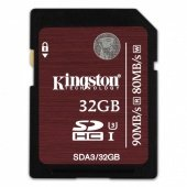 Kingston SDHC UHS-I U3 32GB 90MB/s (4К)