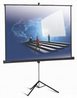 "Экран для проекторов ScreenMedia 112""  200 x 200см"