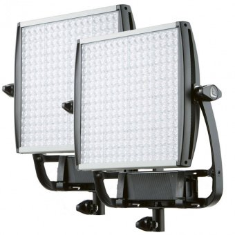 2 X Litepanels Eco Astra 1x1 Daylight